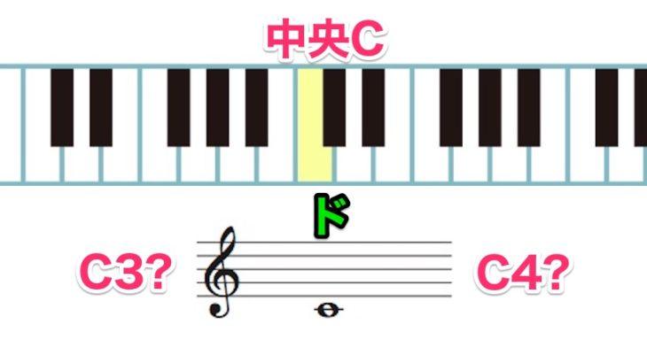 A=440Hz、中央CのC3やC4とは?