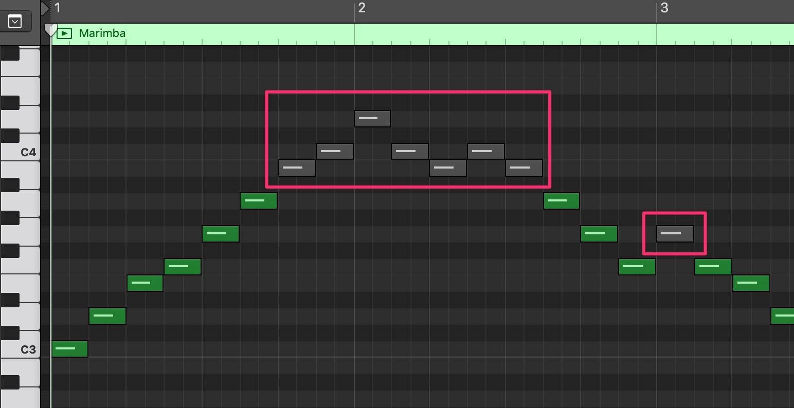 LogicでMIDIの音が出ない時の対処方法3