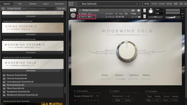 Logicで1つのソフトシンセの中に複数の音色を立ち上げる