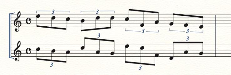 連符の数字の表示位置を変える方法11